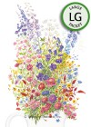 Flower Mix Grandmother's Cut Flower Garden Seeds (LG)